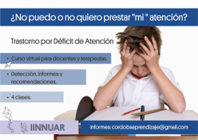Diapo CursoTrastorno Deficit Atencion